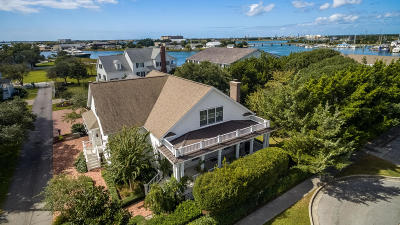Beaufort NC Single Family Home For Sale: $929,000
