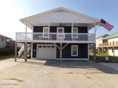 North Topsail Beach, Surf City, Topsail Beach Single Family Home For Sale: 1212 N Topsail Drive