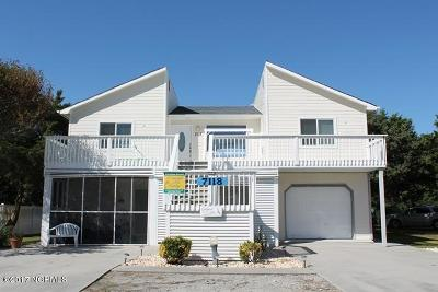 Emerald Isle Single Family Home For Sale: 7118 Ocean Drive