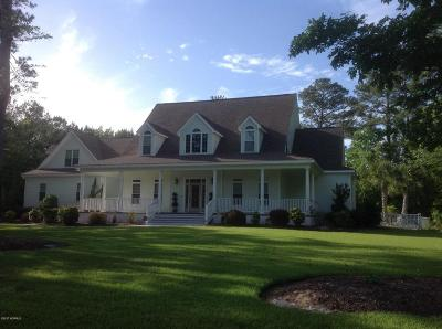 Swansboro Single Family Home For Sale: 125 Mulligan Drive