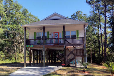 Oak Island NC Single Family Home For Sale: $239,900