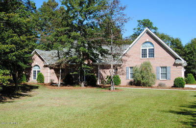 Olde Point, Olde Point Villas Single Family Home For Sale: 820 S Green Tee Road