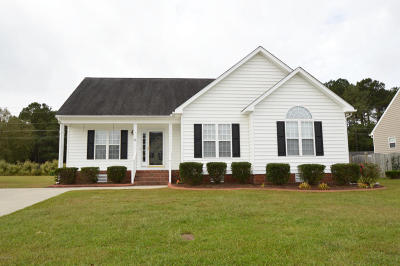 Winterville Single Family Home For Sale: 2617 Camille Drive