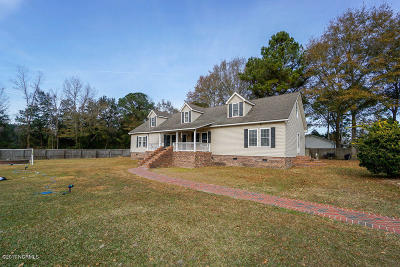 Castle Hayne, Burgaw, Rocky Point Single Family Home For Sale: 25 Arvida Spur Road