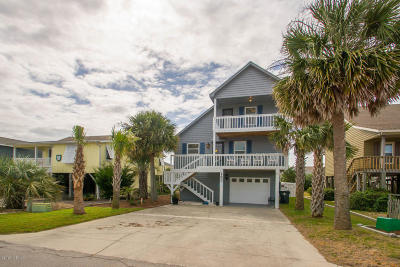Holden Beach Single Family Home For Sale: 153 Brunswick Avenue W