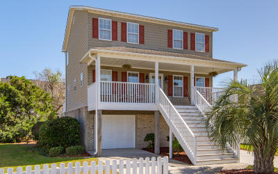 Carolina Beach, Kure Beach Single Family Home For Sale: 218 5th Avenue N
