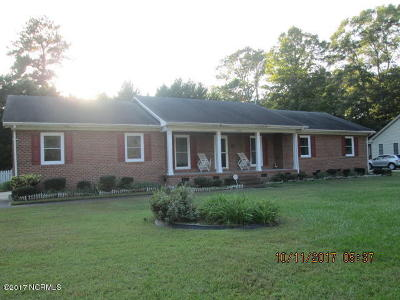 Edgecombe County Single Family Home For Sale: 1300 Macon Place