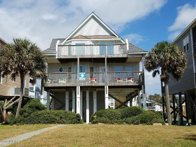Oak Island NC Single Family Home For Sale: $595,000