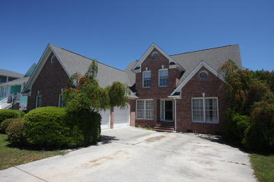 Carolina Beach, Kure Beach Single Family Home For Sale: 806 Cutter Court