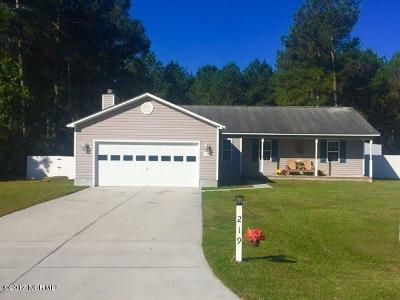 Jacksonville Single Family Home For Sale: 219 Bishop Drive