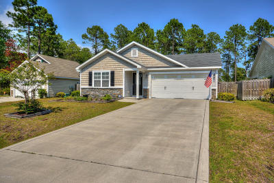 Sneads Ferry Single Family Home For Sale: 119 Oyster Landing Drive