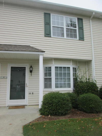 Winterville NC Condo/Townhouse Sold: $60,000