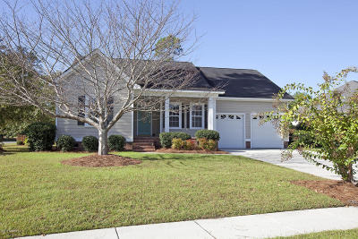 Magnolia Greens Single Family Home For Sale: 1101 Willow Pond Lane