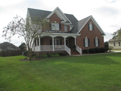 Winterville Single Family Home For Sale: 108 Blackwater Drive