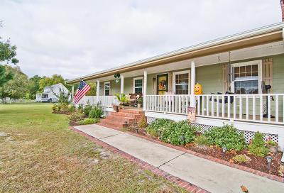 Newport Single Family Home For Sale: 644 Bogue Loop Road