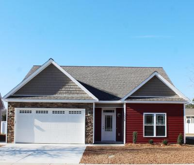 Winterville Single Family Home For Sale: 2228 Tulls Cove Road