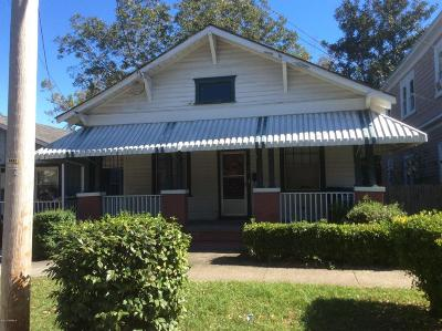 Wilmington Single Family Home For Sale: 614 McRae Street