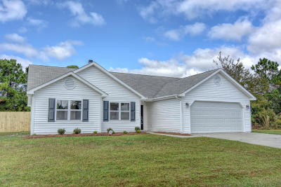 Hubert Single Family Home Active Contingent: 147 Parnell Road