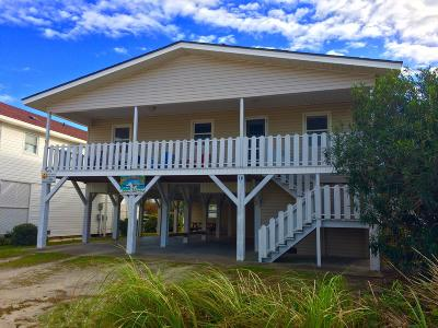 Ocean Isle Beach Single Family Home For Sale: 78 E 2nd Street