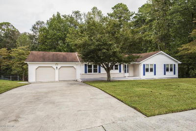 Havelock Single Family Home For Sale: 22 Runningbranch Drive