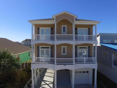 Ocean Isle Beach Single Family Home For Sale: 17 Pender Street