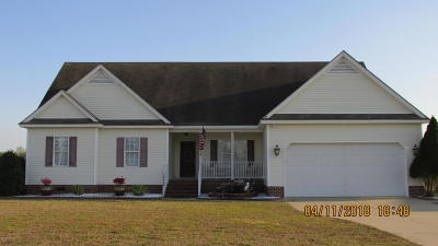 Rocky Mount Single Family Home For Sale: 3449 Aspen Road