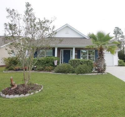 Calabash Single Family Home For Sale: 187 Carolina Farms Boulevard