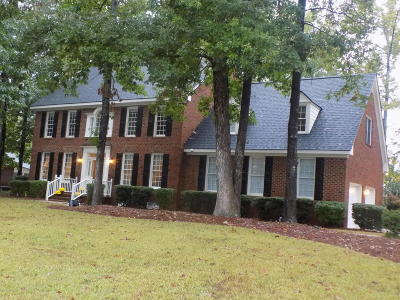 Rocky Mount Single Family Home For Sale: 1200 Michael Scott Drive