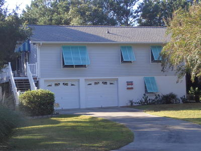Emerald Isle Single Family Home For Sale: 6911 Canal Drive