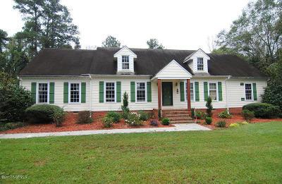 Castle Hayne, Burgaw, Rocky Point Single Family Home For Sale: 405 S Walker Street