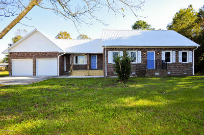 Richlands Single Family Home For Sale: 937 5 Mile Road
