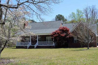 Onslow County Single Family Home For Sale: 196 Country Squire Lane