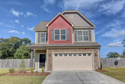 Onslow County Single Family Home For Sale: 212 Hidden Oaks Drive