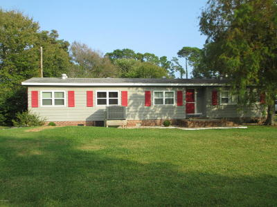Harkers Island Manufactured Home For Sale: 172 Oak Hammock Drive