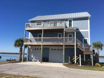 North Topsail Beach, Surf City, Topsail Beach Single Family Home For Sale: 918 Bumble Bee Ct