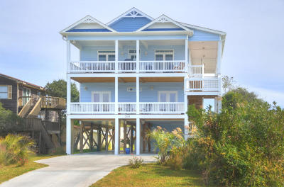 Oak Island Single Family Home For Sale: 208 SE 76th Street