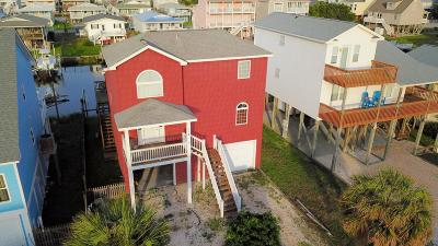 Holden Beach Single Family Home Pending: 114 Burlington Street