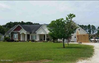 Richlands Single Family Home For Sale: 825 9 Mile Road