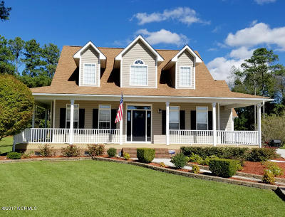 Onslow County Single Family Home For Sale: 212 Portland Place
