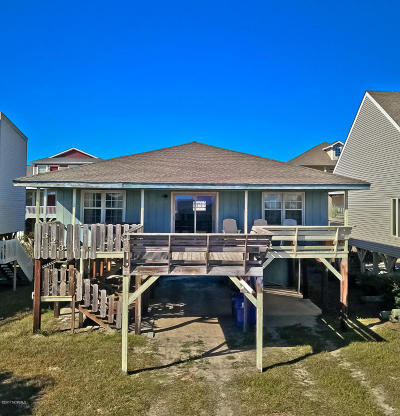 Ocean Isle Beach Single Family Home For Sale: 323 E First Street