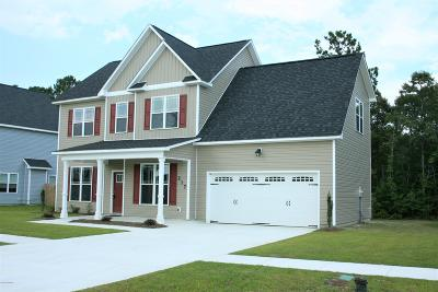 Onslow County Single Family Home For Sale: 217 Dairyfarm Road