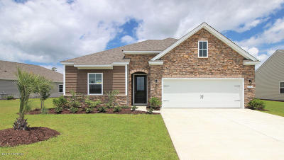 Carolina Shores Single Family Home For Sale: 3125 Crescent Lake Drive #Lot 331