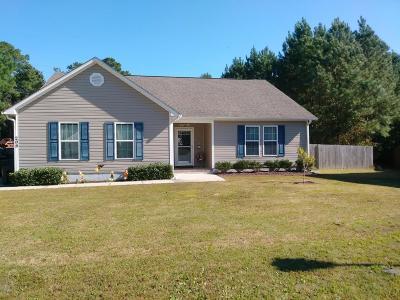 Hubert Single Family Home For Sale: 209 Demetrius Court