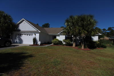 Cape Carteret Single Family Home For Sale: 107 Saint Augustine Drive