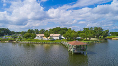 Sneads Ferry Single Family Home For Sale: 132 Gull Drive