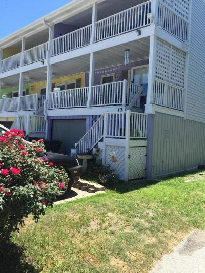 Wrightsville Beach Condo/Townhouse For Sale: 12 Oceanic Street #7