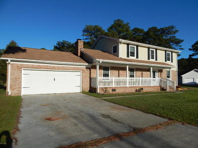 Jacksonville Single Family Home For Sale: 211 Converse Drive
