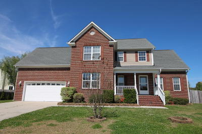 Jacksonville Single Family Home For Sale: 800 Fawn Trail