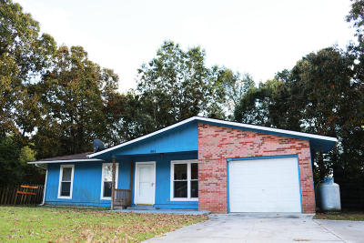 Jacksonville Single Family Home For Sale: 303 Walnut Creek Drive