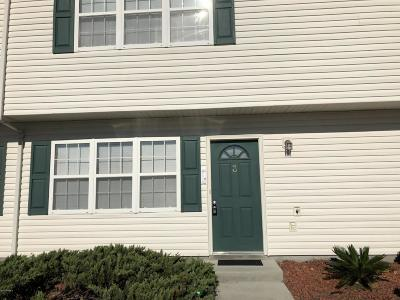 Onslow County Condo/Townhouse For Sale: 3 Pirates Cove